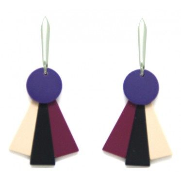 Earring Fan ABP3