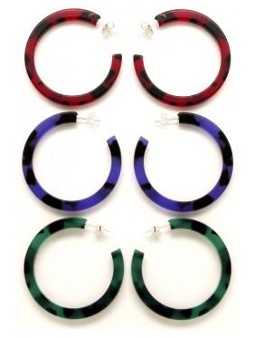 Pack 3 pares de Pendientes Colores de Otoño COP9