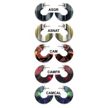Pack 5 pares de pendientes ANP5CAMU